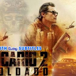 Sicario: Day of the Soldado (2018) With Sinhala Subtitles