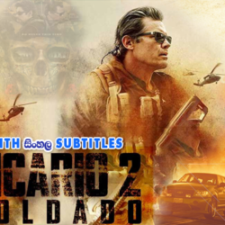 Sicario: Day of the Soldado (2018) With Sinhala Subtitles