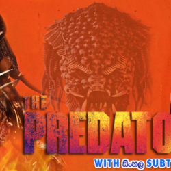 The Predator (2018) With Sinhala Subtitles