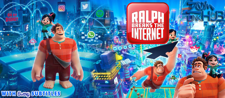 Ralph Breaks The Internet (2018) With Sinhala Subtitles