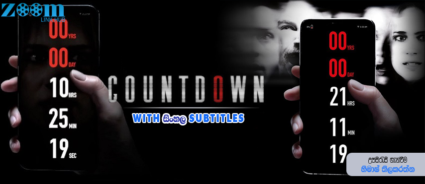 Countdown (2019) With Sinhala Subtitles