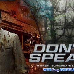 Dont Speak (2020) With Sinhala Subtitles