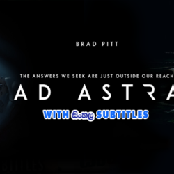 Ad Astra (2019) With Sinhala Subtitles